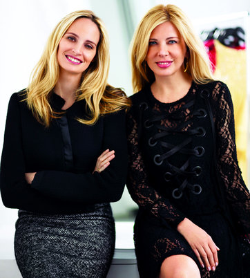 Les co-fondatrices de Moda Operandi : Lauren Santo Domingo et Aslaug Magnusdottir.Photo : Stewart Shining