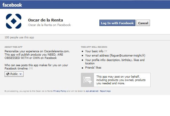 FB Oscar de la Renta