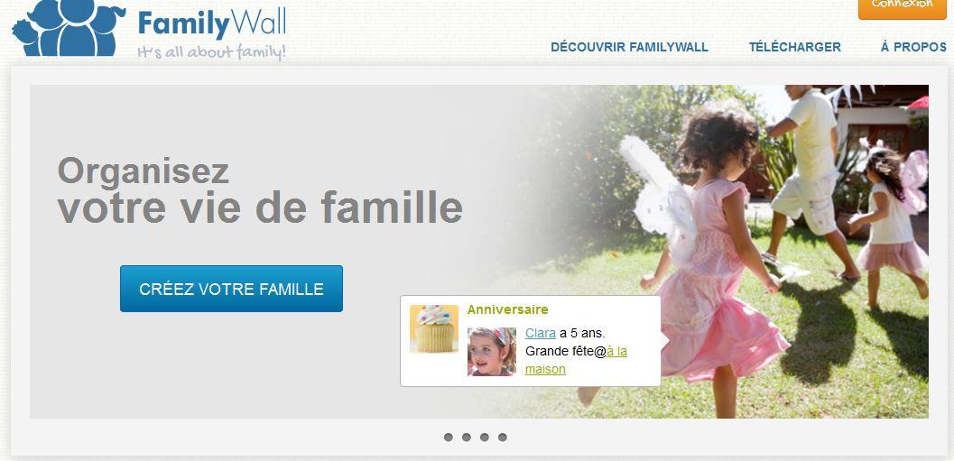 FamilyWall, le réseau 'vertical' des familles