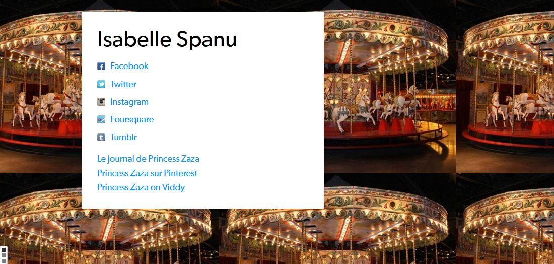 Le CV digital d'Isabelle Spanu sur flavor-me