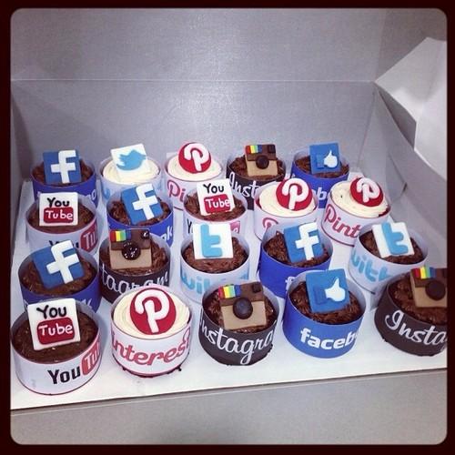 Tout un univers LifeStyle, à l'image de ces gâteaux digitaux ...