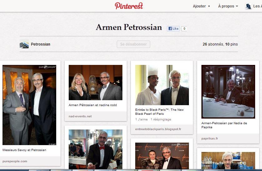 Un tableau 'Armen Petrossian' sur Pinterest