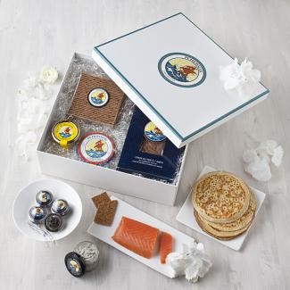 Le Coffret Brunch Petrossian, lancé en Avril 2013