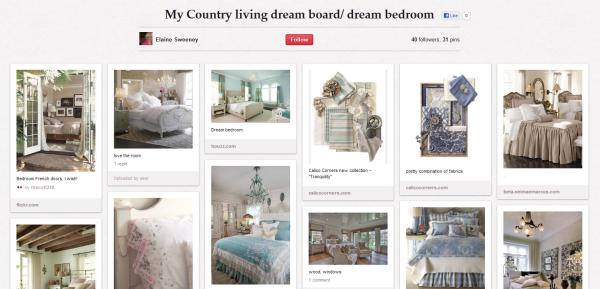 Board Pinterest de Country Living