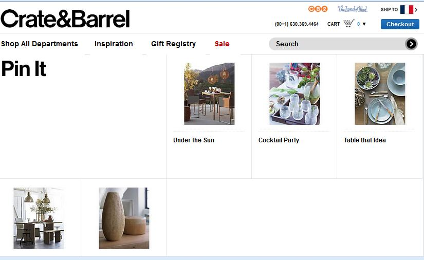 Shop Crate and Barrel to find everything you need to outfit your home.