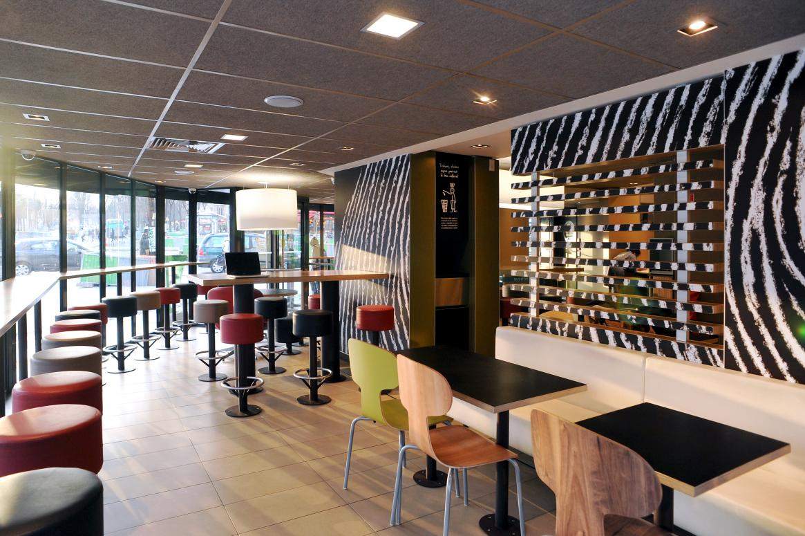Le design en restaurant - L'exemple de McDonald's France