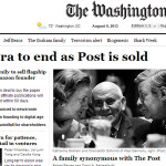 Jeffrey Bezos (Amazon) au Washington Post