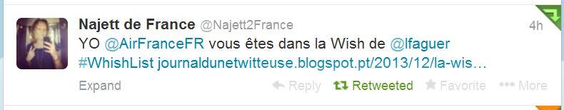 Air France sur Twitter 6