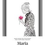 Les voeux de Maria Luisa