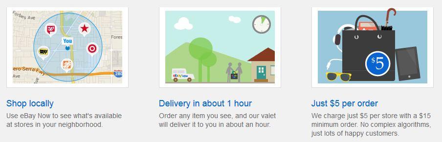 Livraison Ebay Now