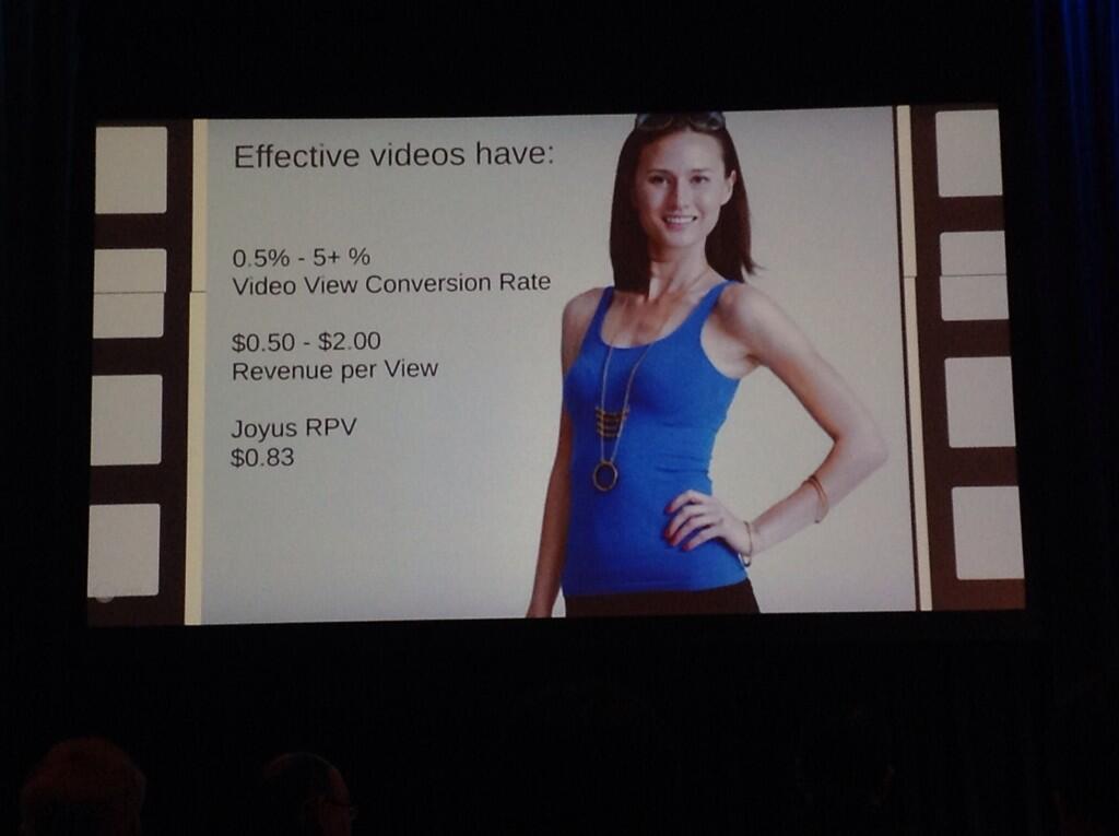 video commerce.kpi's  par Joyus