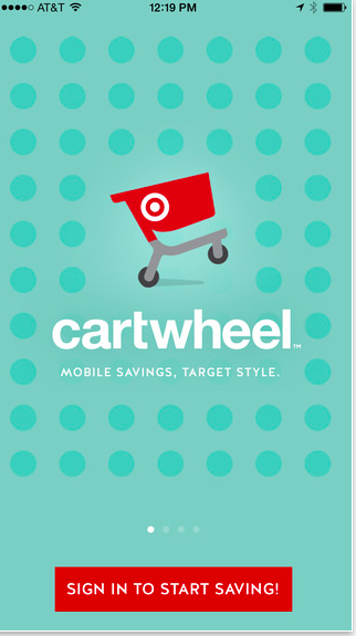 Cartwheel, l'appli dédiée aux M-coupons