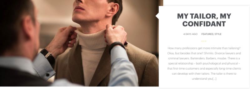 Le 'Uber' pour tailleurs