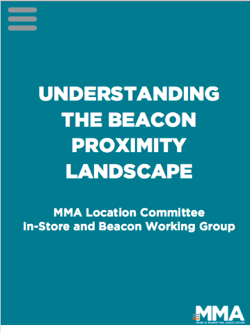 Beacon Proximity : la Mobile Marketing Association fait le point