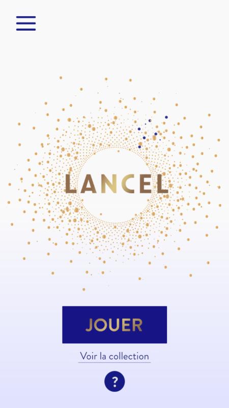 Lancel, une appli mobile… trop éphémère