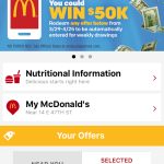 McDonald's US accélère dans la gamification de son appli mobile