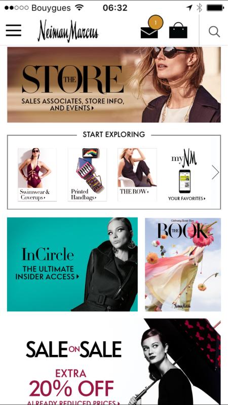 Neiman Marcus augmente ses ventes avec un Message Center