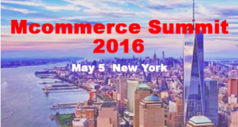 Repéré… au Mcommerce Summit de New York