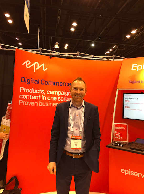 "Interview: James Norwood, Episerver: ""We put CMS, Marketing and Commerce on one screen"""