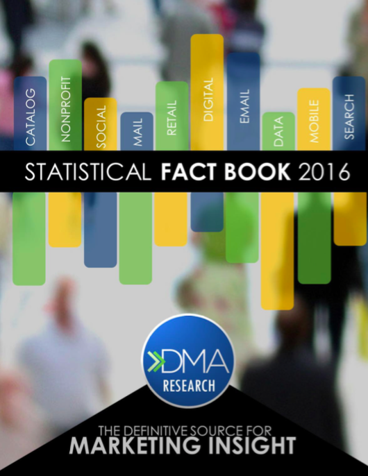 Les 2 best-sellers marketing de rentrée de la DMA : Response Rate Report 2016 et Statistical Fact Book 2016