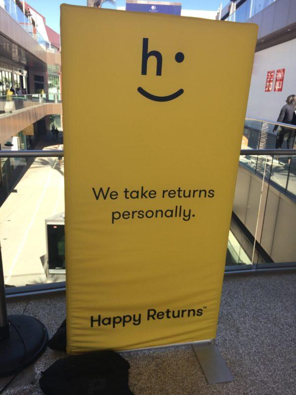 Happy Returns™ : la solution sourire des retours  e-commerce  😀 😀😀