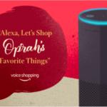Le célèbre guide cadeaux d'Oprah Winfrey sur Alexa, la voix d'Amazon