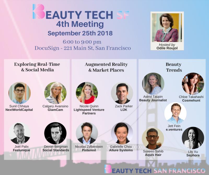 La BeautyTech californienne : 9 entrepreneurs à connaître – Invités de  @beautyTechSF mardi à San Francisco