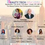 #BeautyTech:  6 marques à découvrir, invitées du meet up @BeautyTechNY (lundi, 6pm)
