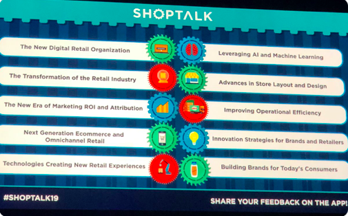 Shoptalk 2019: Day 1 Takeaways—75 changements à venir dans le Commerce