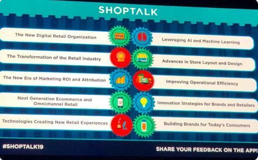 Shoptalk 2019: Day 1 Takeaways—75 changements à venir dans le Commerce