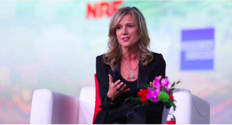 A  New York à NRF,  Michelle Gass, CEO de Kohl's, défend son partenariat avec Amazon